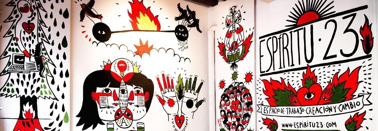espiritu 23 Madrid espacio coworking