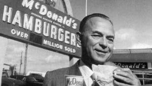 Ray Kroc emprendedor por necesidad