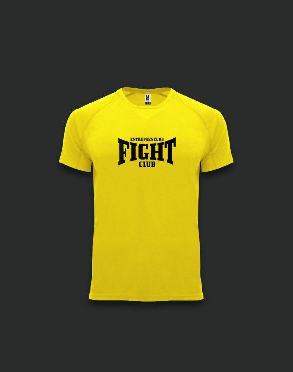 Amarilla-Sudar-la-camiseta