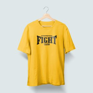 Camiseta Amarilla Entrepreneurs Fight club