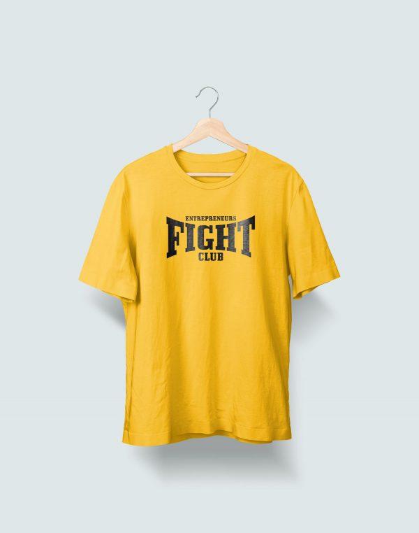 Camiseta Amarilla Entrepreneurs Fight club