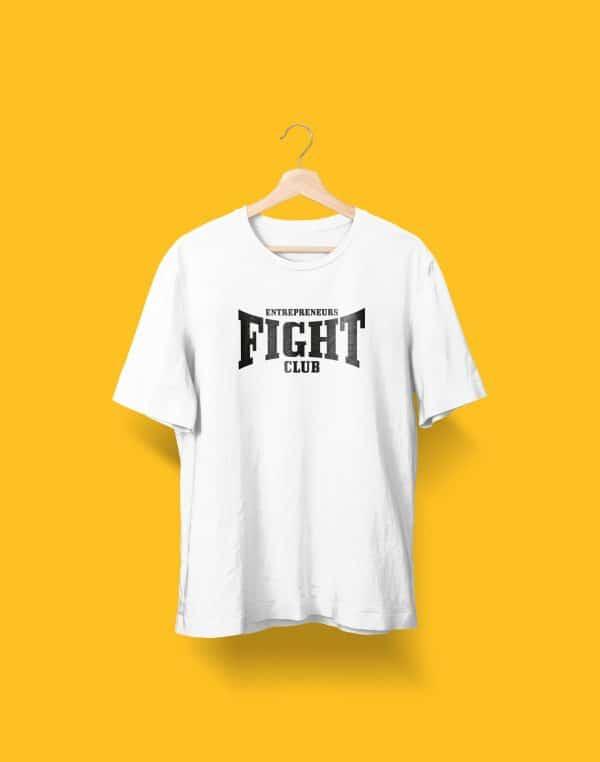 Camiseta blanca Entrepreneurs Fight club