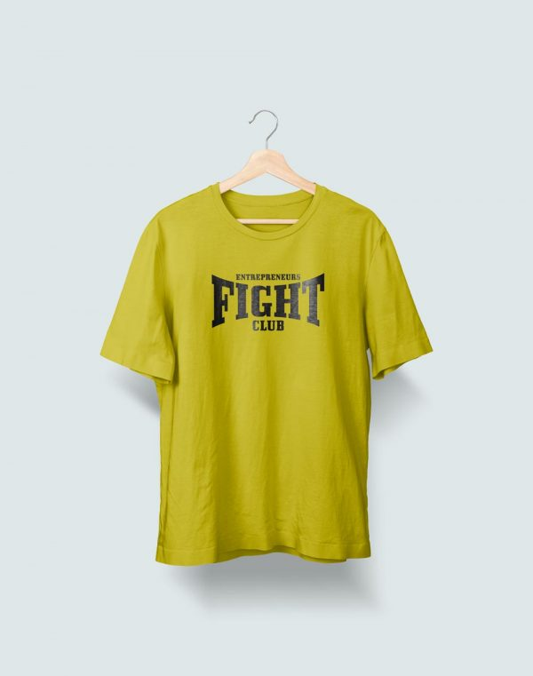 Camiseta verde Entrepreneurs Fight club